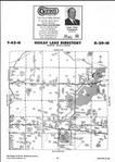 Map Image 050, Crow Wing County 2001 Published by Farm and Home Publishers, LTD